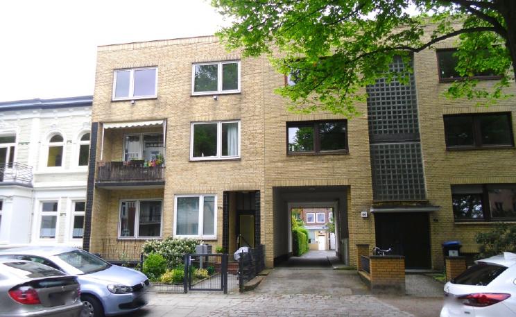 1 Zinshaus in Hamburg-Barmbek mit 5 Wohnungen und 3,78% Rendite