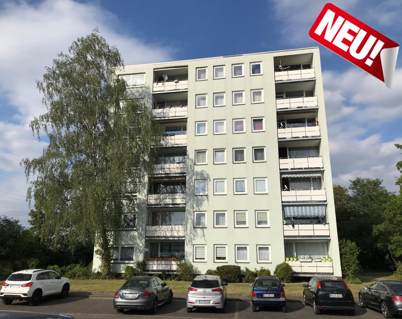 28 vermietete Wohnungen in NRW sind für Sie vertriebsbereit!