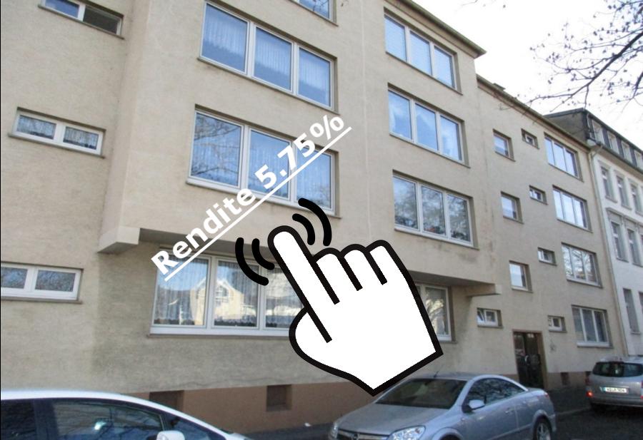 Hammer! 14 vermietet Wohnungen in Wuppertal mit bis zu 5,75% Rendite