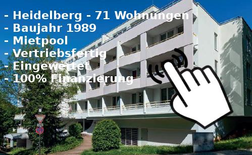 Neu [Objekt mit Mietpool] Unistadt Heidelberg