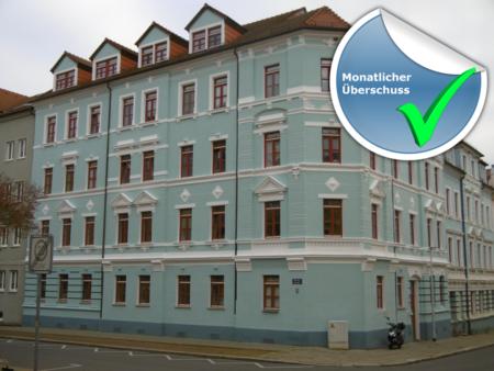 [Nähe Dresden] 6,00% Rendite – Super Jugendstilwohnung – monatlicher Überschuss!